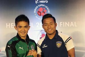 ISL final between Chennaiyin FC, Bengaluru FC brings India's best to...