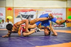 37th sub-junior national wrestling: Grappling odds to earn a bout of...