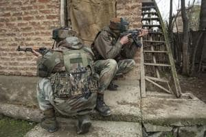Two militants killed in overnight Srinagar encounter after attack on...