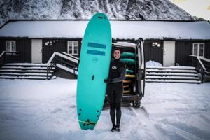 Extreme sports: Meet the surfers who brave Arctic waters to pursue...