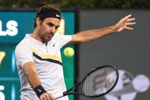 Roger Federer defeats Chung Hyeon, rolls into Indian Wells tennis...