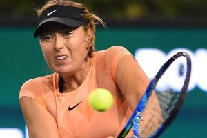 Maria Sharapova withdraws from Miami Open tennis with forearm injury
