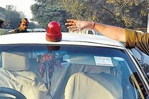 Haryana IPS, HPS officers violating 'lal batti' norms, says transport...