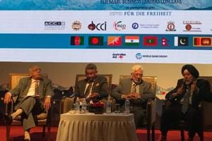 SAARC nations' business leaders discuss regional economic integration...