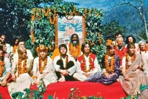 The Beatles lived in a remote Rishikesh ashram in the spring of 1968.