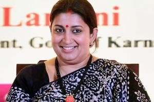 Govt considering framing new laws to regulate online content: Smriti...