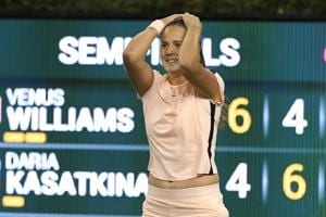 Daria Kasatkina upsets Venus Williams, to play Naomi Osaka in Indian...