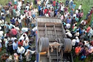 12 killed, 46 injured in Sitamarhi bus accident