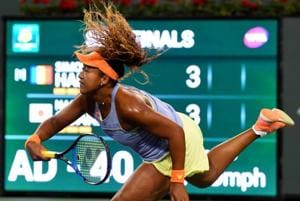 Naomi Osaka blitzes top seed Simona Halep en route to Indian Wells...