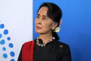 Crushed hopes greet Aung San Suu Kyi in Australia