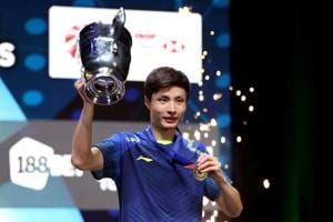 Shi Yuqi, Tai Tzu Ying clinch All England Open badminton titles