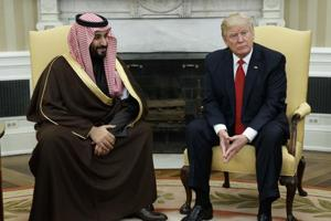 Trump prepares for visit by Saudi prince Mohammed bin Salman who has...