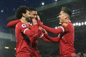 Super Salah hits four as Liverpool thrash Watford in Premier League