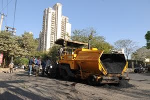 Gurgaon: Developer re-carpets arterial road in Phase-4 with help from...