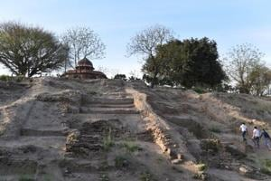 Photos: Excavation at Purana Qila unearths new chapter in Delhi...