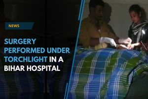 In a shocking incident, a surgery was conducted using torchlights in...