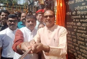 MP CM inaugurates 'selfie point' near Bhopal's Upper lake, Opposition...
