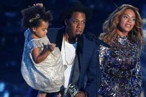 Beyonce's daughter Blue Ivy goes viral after $19k bid on art