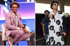 Ranveer Singh, Karan Johar make another style-statement. Would you...