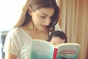 Soha Ali Khan learns how to be stress-free from daughter Inaaya