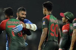 Dinesh Karthik's amazing hitting out of this world: Shakib Al Hasan