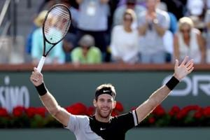 Juan Martin Del Potro, Naomi Osaka rise in tennis rankings after...