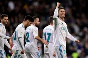 Cristiano Ronaldo scores four in Real Madrid win, Atletico go down to...