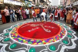 Photos: Mumbai celebrates Gudi Padwa