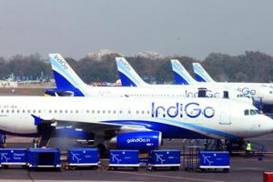 IndiGo resumes operations of four of five planes with faulty engines...