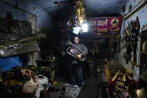 Photos: Meerut's brass instrument makers contend with...
