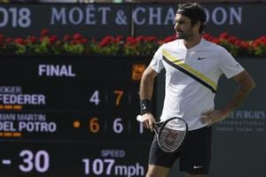 Roger Federer admits his thrilling Indian Wells Masters final loss to...