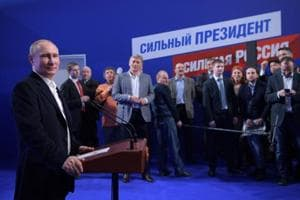 Russian presidential election: Putin easily wins another six-year...