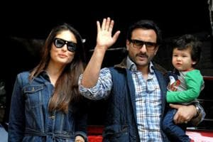 Kareena, Saif, Soha, Kunal enjoy a day out with babies Taimur and...
