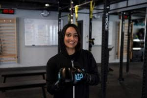 At this gym in Saudi Arabia, women throw punches and break exercise...