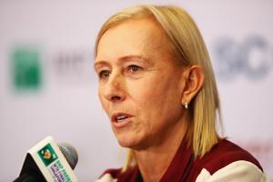 "Martina Navratilova accused the BBC on Monday of a ""shocking"" pay gap..."