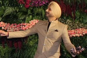 Harbhajan Singh introduces a new celebration after the success of...