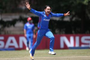 ICC World Cup Qualifier: Rashid Khan spins Afghanistan to victory over...