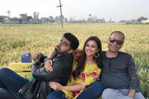 Parineeti Chopra shares picture with Arjun Kapoor from sets of Namaste...