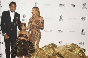 Beyoncé in a glittering gold gown: Guess the Indian designer duo who...