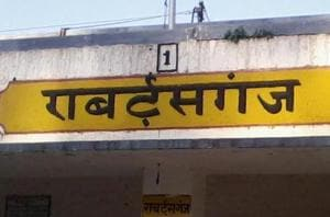 UP: British-era Robertsganj railway station renamed Sonbhadra