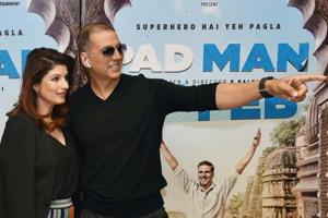 Akshay Kumar posts sweet photo of wife Twinkle Khanna from a vacation....
