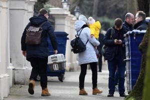 UK spy row: Expelled Russian diplomats leave London