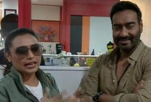 Ajay Devgn confesses his 'hichki' to Rani Mukerji: People called me...
