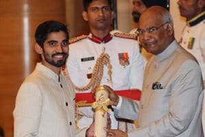 MS Dhoni gets Padma Bhushan award; Somdev Devvarman, Kidambi Srikanth...