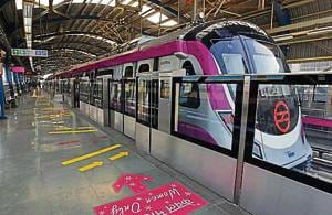 Thieves target Metro Magenta Line, steal power cables worth ₹2 crore
