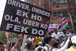 Uber claims drivers withdrawing protest, MNS says strike will go on