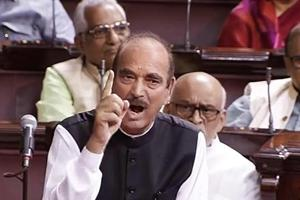 Ghulam Nabi Azad blames govt for Parliament impasse as another day...