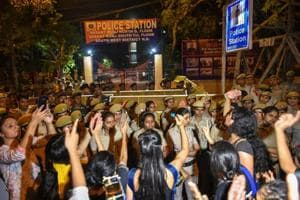 JNU professor detained for questioning in sexual harassment cases