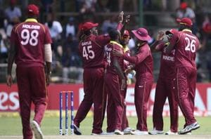 West Indies beat Scotland in rain-marred match to book 2019 ICC World...