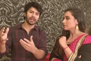 I froze and started talking very fast: Varun Dhawan shares his Hichki...